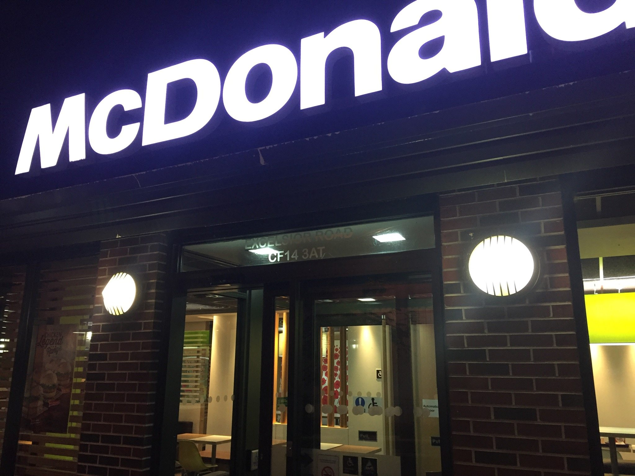 mcdonald's senior restaurant case study Answer to bridgett bowen is manager of a mcdonald's restaurant in a city with many seniors she has noticed that some senior c.